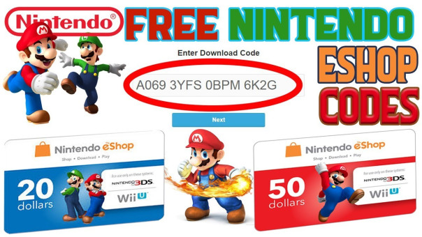 Free nintendo eshop codes no survey
